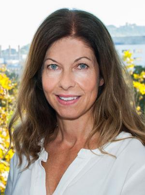 Nina Paulsson äger Hölick Havsresort tillsammans med David Bäckström och Leif Jonsson.