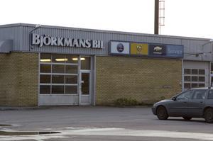 Snart borta. Serviceverkstaden på Björkmans blir kvar mars ut.