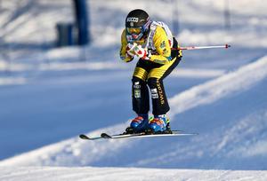 Erik Mobärg fick respass redan i kvartsfinalen. Bild: TT
