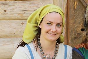 Britta Geshwind kommer till firandet av Kulturarvsdagen och föreläser om vikingatiden.