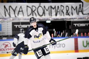 31 på 38 matcher blev det under Bergströms första säsong i HV71.