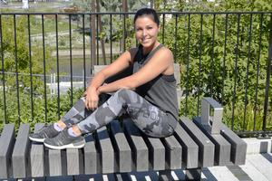 Första veckan i september slår Hanna Strand upp portarna till sitt gym Team Beach and Wellness. Namnet kommer av det engelska ordet för strand, Beach.