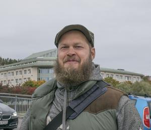 Jon Björkebäck, 41, IT-arkitekt, Sundsvall.