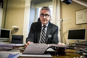 Foto: Jonas Ekströmer/TT Den nytillträdde riksmarskalken Fredrik Wersäll är en person som skulle kunna vara aktuell som ny ledamot i Svenska Akademien.