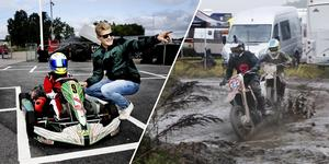 Örebro motorstadion rymmer både gokart- och motocrossbana, men också banor för speedway, supermotard och caster. Arkivfoto