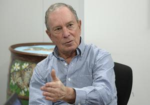 Förre borgmästaren i New York, Michael Bloomberg. Foto: AP Photo/Phelan M. Ebenhack.