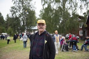 Ingemar Jonsson, ordföranden för Rafnastämmans vänner, tycker att det är viktigt att stämman behåller sin ideella själ och inte blir kommersiell – för spontaniteten och musikens skull.