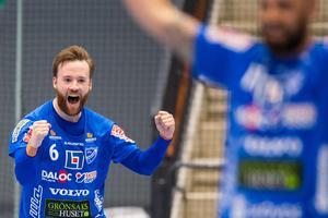 Adam Samuelssons slutspelsskägg blev utsett av fansen till bäst i laget. Foto: Petter Arvidson / BILDBYRÅN