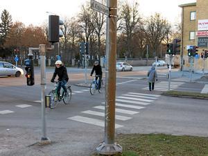 Cityringen. I korsningen med Kopparbergsvägen.