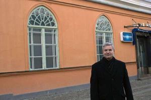 Konsthistorikern George Samourkas har engagerat sig för att rädda Klippanhusen från rivning.