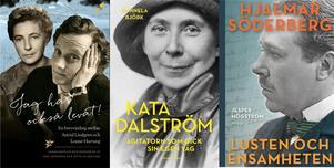 Astrid Lindgren och Louise Hartung,