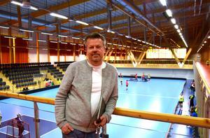 Vd:n Tomas Grönberg är nöjd med sitt bygge.