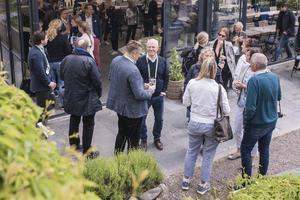 Under onsdagen besökte många Lidö i Norrtälje skärgård för att ta en titt på projektet Zero island.