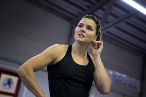 Forna friidrottsesset Susanna Kallur.