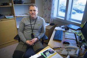 Polisen Lars Fredin är länsansvarig för nationella viltolycksrådet.