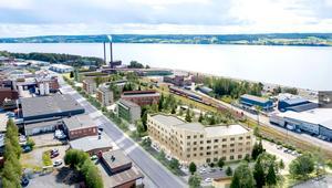 Det nya äldreboendet på Bangårdsgatan kommer att bli unikt på flera sätt. Boendet kommer bland annat ha eget nödvatten.