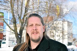 Patrik Liljeglöd (V), gruppledare för V i Falun.