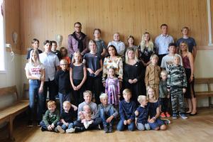 Fyrmänningarna är de yngsta i släkten. Bild: Catharina Ingvarsson