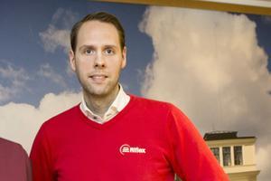 Martin Hagman, vd Riflex, förvaltar 320 hyresrätter och planerar att bygga cirka 40 till i Norrtälje.