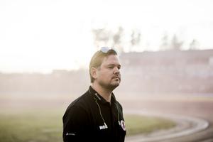 Indianernas lagledare Peter Johansson ger Vaclav Milik chansen i Tai Woffindens frånvaro.