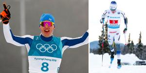 Iivo Niskanen och Jens Burman. Foto: AP Photo/Matthias Schrader och Terje Pedersen/TT