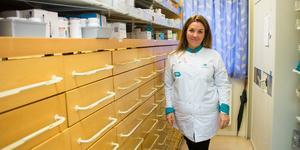 Anna Lindgren har varit chef för Apoteksgruppens butik i Norberg sedan juni i år, efter att medarbetarna där uppmanat henne att söka tjänsten.