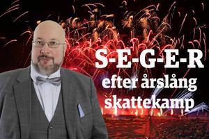 En seger måste illustreras med en segerbild. Här det svenska bidraget som vann International Fireworks Competition i Hannover 2014.