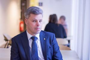 Kenneth Holm är säkerhetschef på kriminalvården. Han är väldigt besviken över det som hände vid rymningen i Laxå.Foto: Ulrika Persson, Kriminalvården