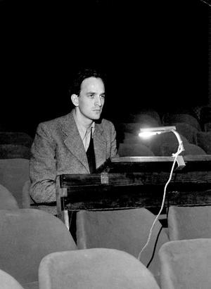 Den unge Ingmar Bergman tänkte sig en framtid som författare.Foto: SCANPIX