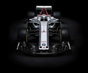 Så kommer Marcus Ericssons bil se ut i år.Foto: Sauber Motorsport
