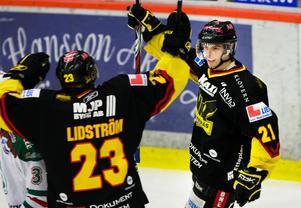Kalle hade sex framgångsrika säsonger med Västerås i hockeyallsvenskan. Arkivbild: Bildbyrån