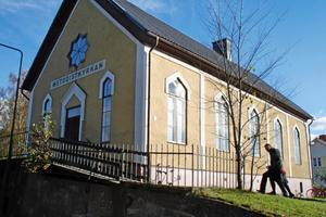 Hus med historia. Metodistkyrkan i Laxå firade nyligen 140-årsjubileum.