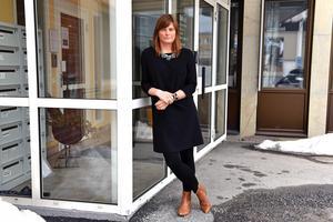Kristina Svedberg är ny på Advokatfirma Abersten HB sedan den första mars.Bild: Hasse Tavér