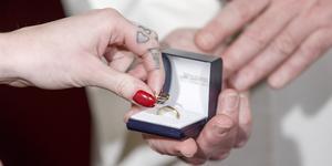 Drop in bröllop. Foto: Gorm Kallestad