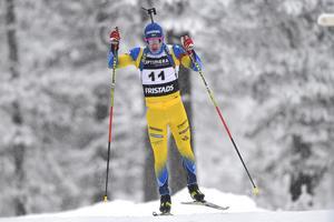 19-årige Malte Stefansson var bäst av de svenska herrarna i alla tre loppen i Ridnaun.