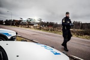Polisen i Dalarna har tre UAS-maskiner, varav en är utrustad med värmekamera.