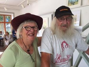 Birgitta och Knut Avholm, 78 och 87, från Jumkil.