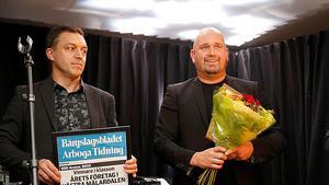 Årets företag: Ågårdens restaurang, Andreas Haglind tog emot priset.