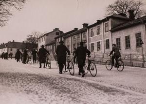 I Oxbacken i början på 1930-talet.