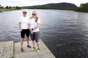 Lena Karlström Backskog och Mimmi Backskog håller på för fullt med förberedelserna inför Cypakutsi. Stora delar av byn är engagerade i arrangemanget.