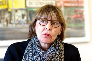 Nya politiska majoriteten vill inte att Karin Stikå Mjöberg ska fortsätta vara högsta chefen. Foto: Claes Söderberg