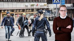 Dennis Martinsson, krönikör med fokus på kriminalitet och rättsväsendet, skriver denna vecka om dådet på Drottninggatan.