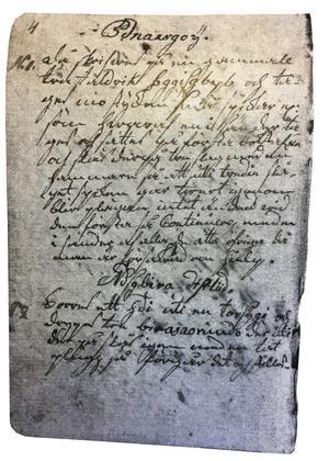 En sida ur Troll-Maxens svartkonstbok.