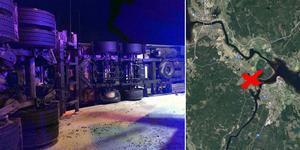 Bilden är ett montage. Foto: Brandkåren Leksand/Google Maps