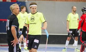 Robin Jensen gjorde comeback i Kungsörs IBK mot Silverstaden.