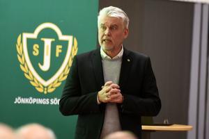 Mats Tidstrand, ordförande i Jönköpings Södra.