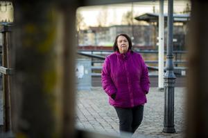 Ing-Marie Klang, som jobbar både som hyrsjuksköterska och på Aleris sjukhus i Bollnäs.