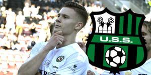 Jake Larsson är fortsatt het på spelarmarknaden. Den svenska U21-landslagsmannen placeras nu i Serie A-klubben Sassuolo.