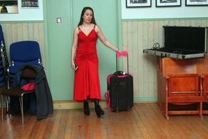 Elisabeth Jäntti på väg till USA.