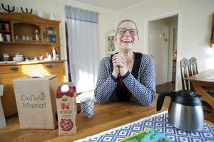 Ulrike Steiner har nu haft Axmar Bruks Bed & Breakfast i tre somrar.